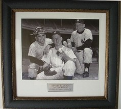 Yogi Berra unsigned 11X14 Photo Leather Framed - $123.95