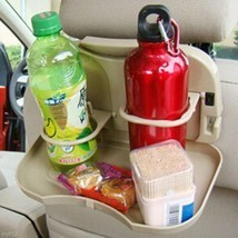 Car Auto Rear Backseat Bottle Drink Cup Tray Ho... - $6.46