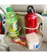 Car Auto Rear Backseat Bottle Drink Cup Tray Holde Bracket Desk Table Ra... - $6.46