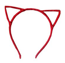 Cat Ear Headband Hair Hoop Hair Band Makeup Headwear Fashion Headbands - E - $10.37