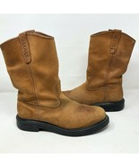 Red Wing Mens Super Sole Pecos Nubuck Work Boots Size 9 #1105 USA Made - $163.34