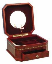 Ladies Luxury Dancing Ballerina Wood Musical Jewelry Box Brand NEW - $90.25