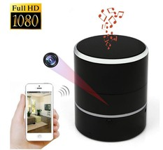 HD 1080P Wifi Speaker Camera 180 Degree Rotate H.264 Wireless Motion Det... - $92.07