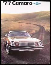 1977 Chevy Camaro, LT, Rally Sport Brochure Xlnt! - $11.86