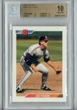 1992 Bowman Jim Thome BGS 10 Pristine Baseball Card #460 Cleveland Indians - $149.99