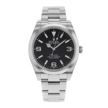 Rolex  Explorer 214270 Black Dial Stainless Steel Automatic Mens Watch - $6,673.06