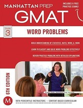 Word Problems Gmat Strategy Guide 6th Edition [Paperback] [Jan 01, 2014]... - $12.97