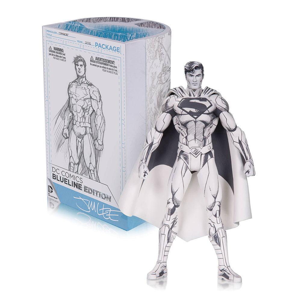DC Collectibles Direct Comics Action Figure ~ Jim Lee Superman BlueLine