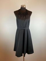 Elie Tahari Womens Dress 8 Black Knee Length - $98.99
