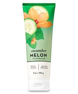 Bath & Body Works Cucumber Melon 24 HR Moisture Body Cream 8oz/226ml New  - $12.83