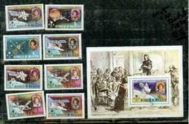 MALDIVES 1972 480-8 + S/S MNH COPERNICUS SPACE ASTROLOGY SATELLITE S1344... - $21.78