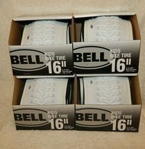 """Bell Kids Bike Tire White 16"""" x 2.125"""" Replaces 1.75""""-2.125"""" LOT OF 4 - $47.03"""