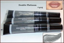 NEW &SEALED Lot of 3 Covergirl Melting Pout Liquid Lipstick Double Plati... - $9.95