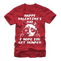 Grumpy Cat Get Dumped Mens Graphic T Shirt - $10.99