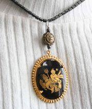 Fabulous Judy Strobel Aquarius Hematite Necklace - $24.95