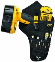 CLC 5023 Deluxe Cordless Poly Drill Holster, Black - $15.22