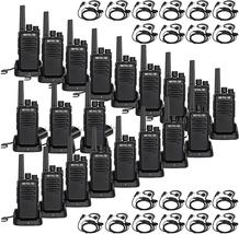 20 Set Portable Long Range Walkie Talkie Two Way Radio Rechargeable Hand... - $395.99