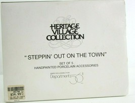 Dept 56 Access Steppin Out On The Town Learning Charleston Brite Lites S... - $37.05
