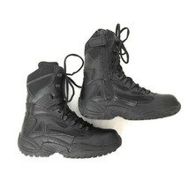 Converse Men's Size 7 Black Leather Tactical Rapid Response Lace Up Boots - $57.42