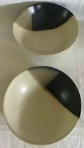 """Sango Mystique #5036 Set of 2 Deep Soup Cereal Bowls 7- 3/4"""" Stoneware R... - $16.82"""