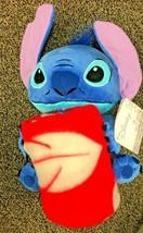 "Disney Stitch 626 Hugger Set 40"" X 50"" Fleece Throw Blanket with Plush - $43.98 CAD"