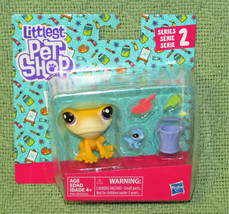 NEW LITTLEST PET SHOP SERIES 2 IGGY FROGSTEIN & MITZI McLIZARD HASBRO LP... - $7.92
