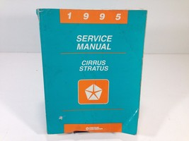 1995 Chrysler Dodge Cirrus Stratus Service Manual 81-270-5121 OEM Original - $12.99