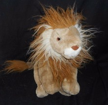 Big Ty Vintage 1991 Harris The Lion Brown Tan Stuffed Animal Plush Toy #7415 - $42.08