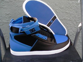 Mens DC skate shoes ADM sport size 9.5 us new in box royal/black - $64.30