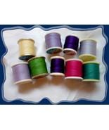 9 Rolls of Thread Assorted Colors Name brands - $4.00