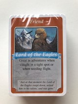 The Hobbit Defeat of the Evil Dragon Smaug Replacement Gandolf Game Card... - $7.97