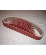 "120 Pieces 1 1/2"" X 30"" abrasive sanding Belt for Pipe tube Polisher met... - $188.09"