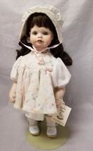 """Shirley Butter Cailyn Ceramic Doll: Porcelain Face, Arms Legs, 16"""" Tall ... - $48.37"""