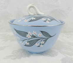 HOMER LAUGHLIN Skytone Stardust - Sugar Bowl with Lid - Vintage 1950s - $11.87
