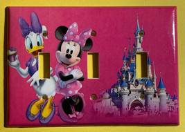 Minnie Mouse Daisy CupCake Light Switch Power Outlet Wall Cover Plate decor image 7