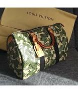 LOUIS VUITTON SPEEDY 35 Hand Bag Monogramouflage Camouflage M95773 Murak... - $7,524.75