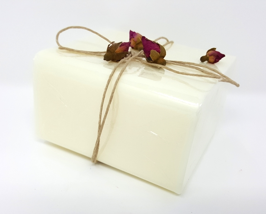1 lb EXTRA ROCK HARD WHITE Melt and Pour Soap Base 100% All Natural NO SWEAT