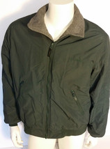L.L. Bean Jacket Medium Green Coat - $16.82