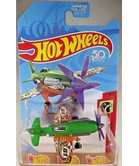 2018 Hot Wheels FJX53 HW Daredevils 4/5 MAD PROPZ Green/Orange w/Yellow ... - $6.20