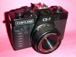 TOY-LOMO 35 MM POINT & SHOOT CAMERA-CORTLAND CCX 7-TESTED & WORKING-LOMO... - $24.74