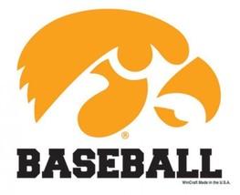 Iowa Hawkeyes Baseball WinCraft 3x4 Ultra Decal - $7.87
