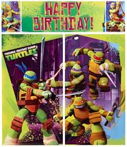 American Greetings Teenage Mutant Ninja Turtles Party Supplies, Scene Se... - $17.62
