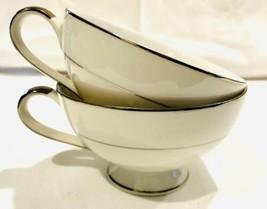 2 Mikasa Fine Porcelain Narumi CELEBRITY 5428 Tea Cups - Japan - $9.85