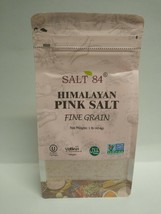 Salt 84 Himalayan Pink Salt Fine Grain, Kosher, Halal 1 Lb Sealed Packed... - $5.00