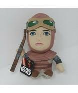 "NEW Disney Star Wars Force Awakens Rey Plush Big Head  7"" - $7.66"