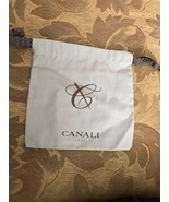 "CANALI 7 1/2"" x 8"" Designer Logo Shoe Handbag Storage Sleeper Dust Bag - $3.50"