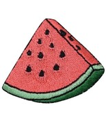 Watermelon Applique Patch - Food, Fruit, Melon Badge (Iron on) - £2.18 GBP