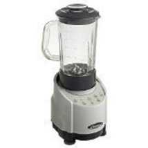 Omega SLK100GS 1-HP Silver Blender with 48-Ounce Glass Container - $99.99