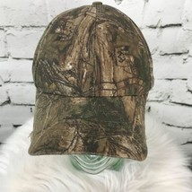 Realtree Mens One Sz Hat Brown Camouflage Adjustable Baseball Cap Flaw - $19.79