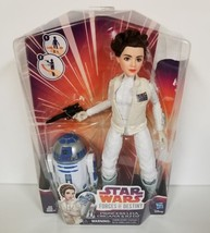 Star Wars - Forces of Destiny Adventure Set - Princess Leia and R2-D2 NEW - $23.36